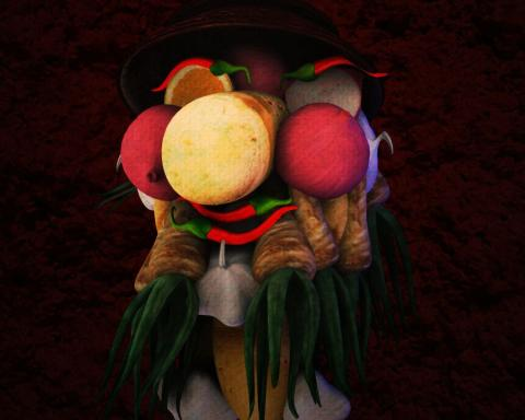 arcimboldo digital illustration