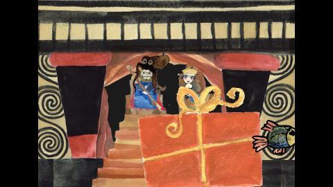 life at Knossus court
